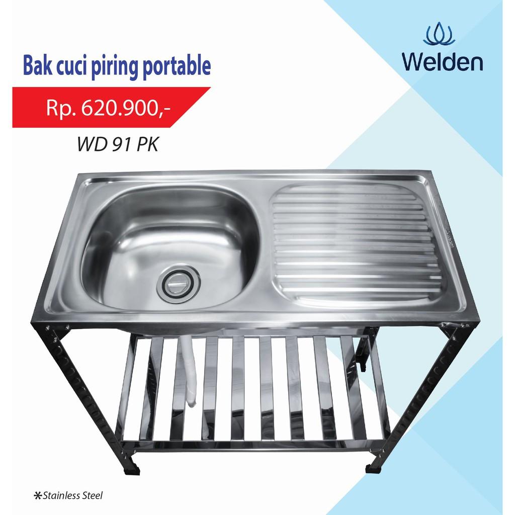 Kitchen sink bolzano 6045 bak cuci piring bolzano shopee indonesia