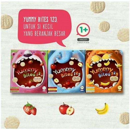 Yummy Bites 123 Anak 1 Tahun Keatas Cemilan Snack Makanan Balita