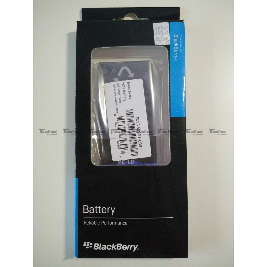 Baterai Blackberry Q10 NX1 Original 100% BB Batre Battery Batu Batrai HP | Shopee Indonesia