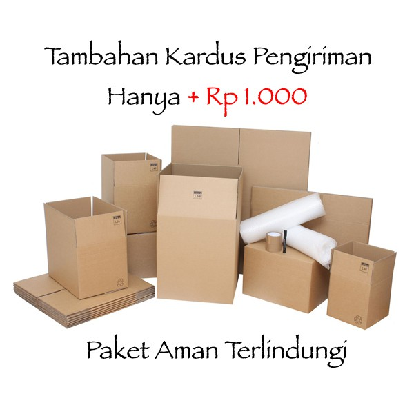 BOX PACKAGING   KARDUS KEMASAN BELANJA TAMBAHAN  464220037e