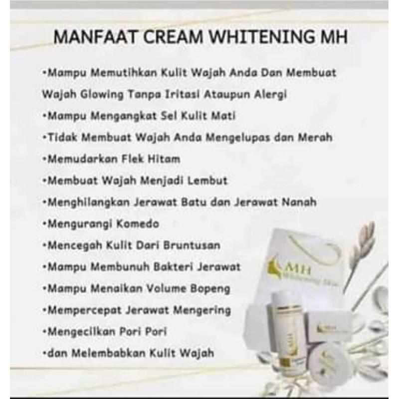 MH Whitening skin/cream skincare MH