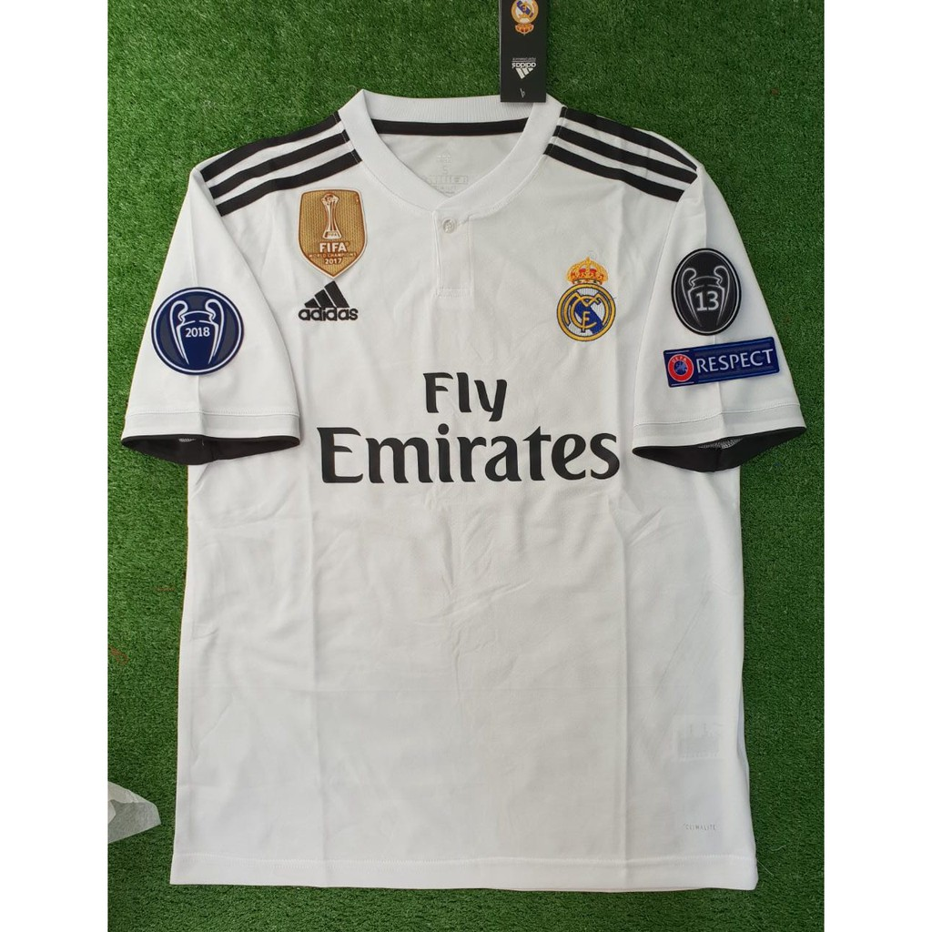 cfadc001f Jersey Manchester United 3rd FULL PATCH UCL 2018 2019 Grade Ori ...