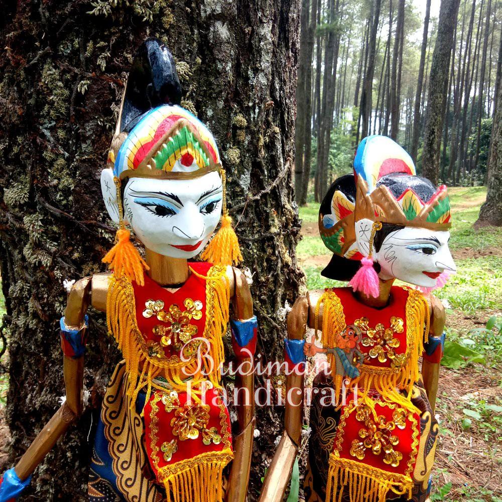 Wayang Golek Pasangan Arjuna Atau Srikandi Di Jual Satuan Sale Off40 Shopee Indonesia