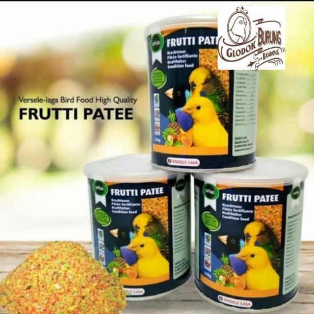 Frutti Fatte Eggfood Makanan Pengganti Sayuran Penambah Birahi