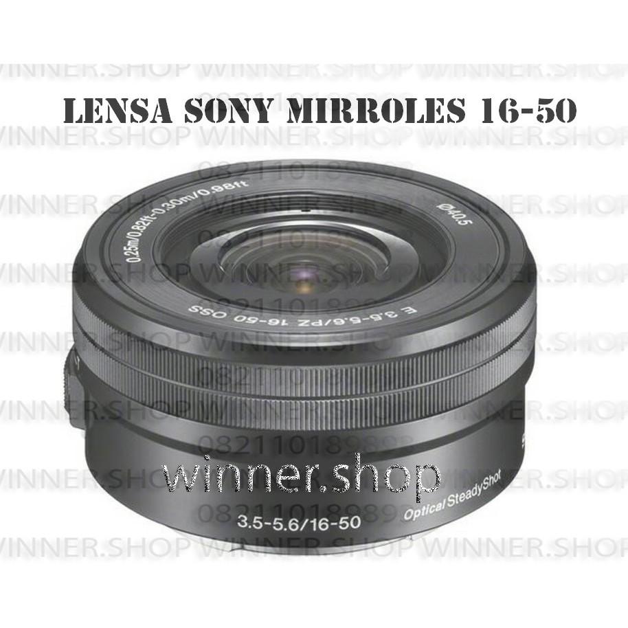 Harga Dan Spesifikasi Lensa Sony 16 50mm Terbaru 2018 Alpha A5100 Kit Hitam 7artisans Lens 35mm F12 For Shopee Indonesia