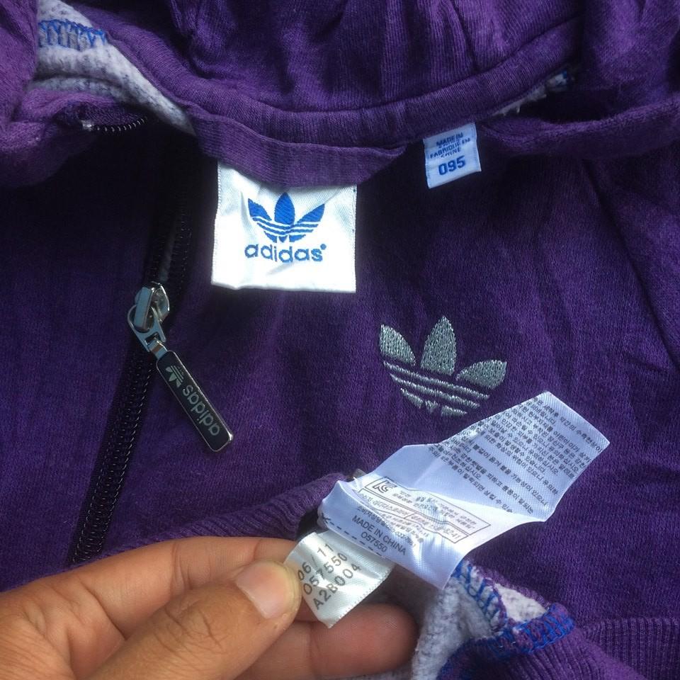Jacket Vtg Hoodie Adidas Wmns PurpleShopee Indonesia Zip