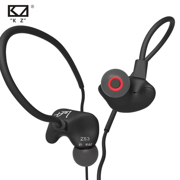 Image result for KZ ZS3 Earphone HiFi Heavy Bass shopee