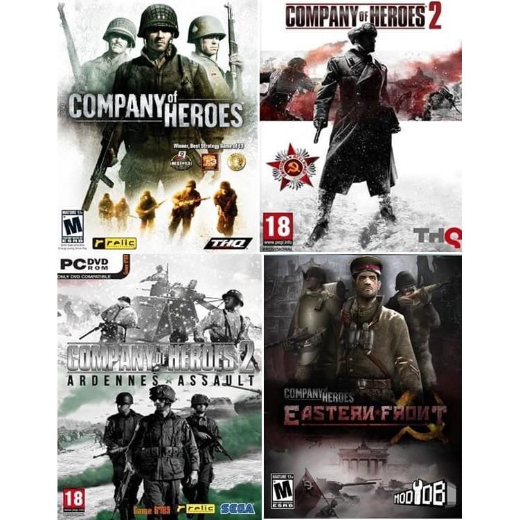 Promo Company Of Heroes Coh Paket Lengkap Game Untuk Pc Laptop Dvd Kaset Diskon Shopee Indonesia