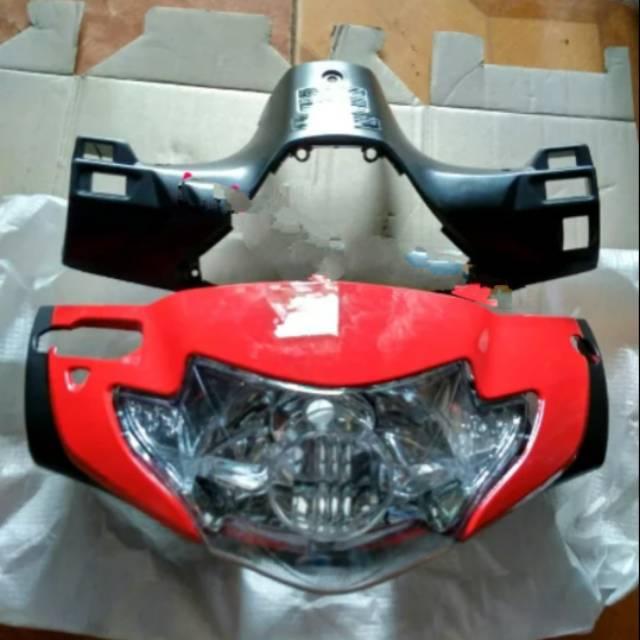 Pala Depan Supra X 125 Lama Batok Depan Belakang Supra X 125 Plus Reflektor Lampu Depan Shopee Indonesia