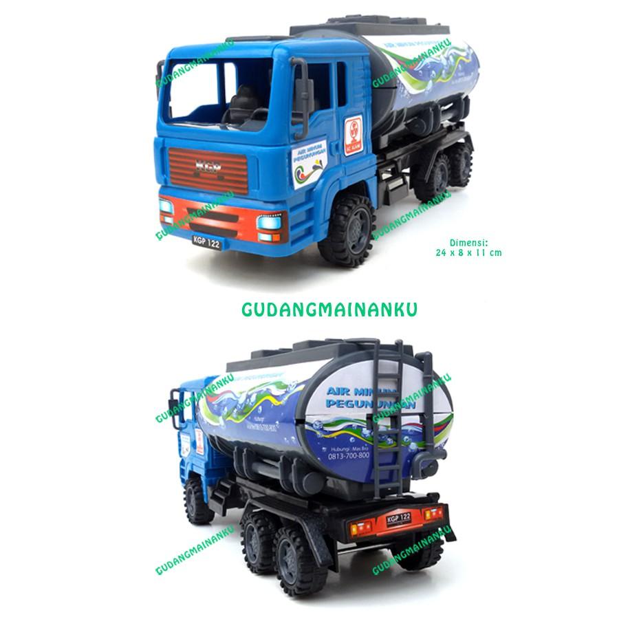 Mainan Mobil Truk Box Friction Mika | Shopee Indonesia