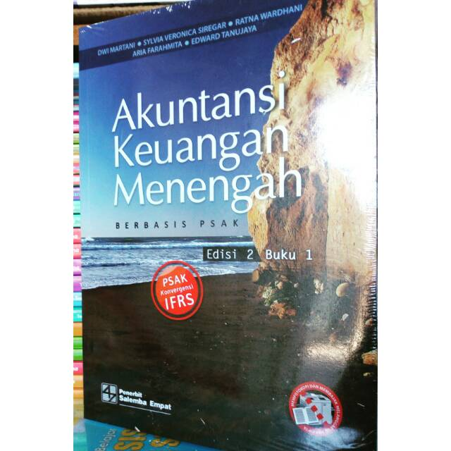 Akuntansi Keuangan Menengah Berbasis Psak Edisi 2 Buku 1 Dwi Martani Penerbit Salemba Empat Asli Shopee Indonesia