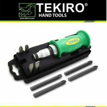 TEKIRO OBENG KETOK 9 PCS / OBENG PUKUL / OBENG KETOK TEKIRO