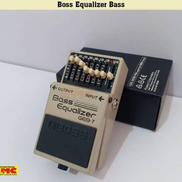 Boss GEB-7 Bass Equalizer 7 band