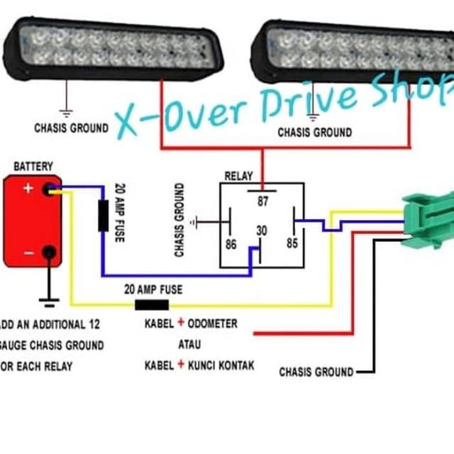 Wiring Diagram Fog Lamp Xenia