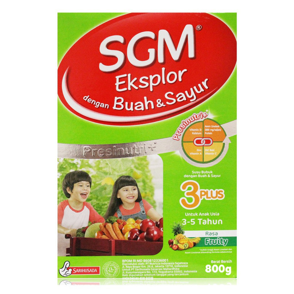 Sgm 1 3 5 Soya Phpro Buah Sayur Exp Date 2019 2020 Eksplor Van Madu Shopee Indonesia