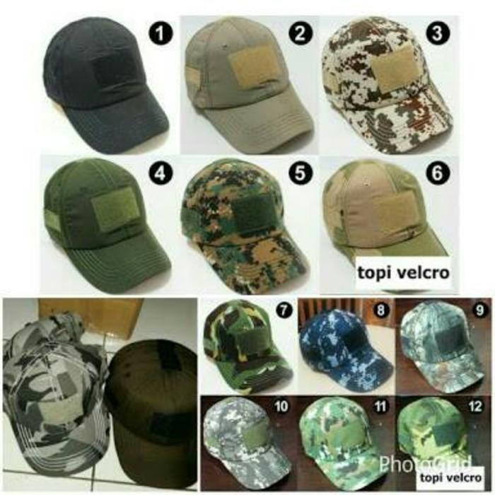 Army Hat   Topi Tactical velcro army   Topi Armi Topi Army Topi TNI ... 9fa4e64a7f