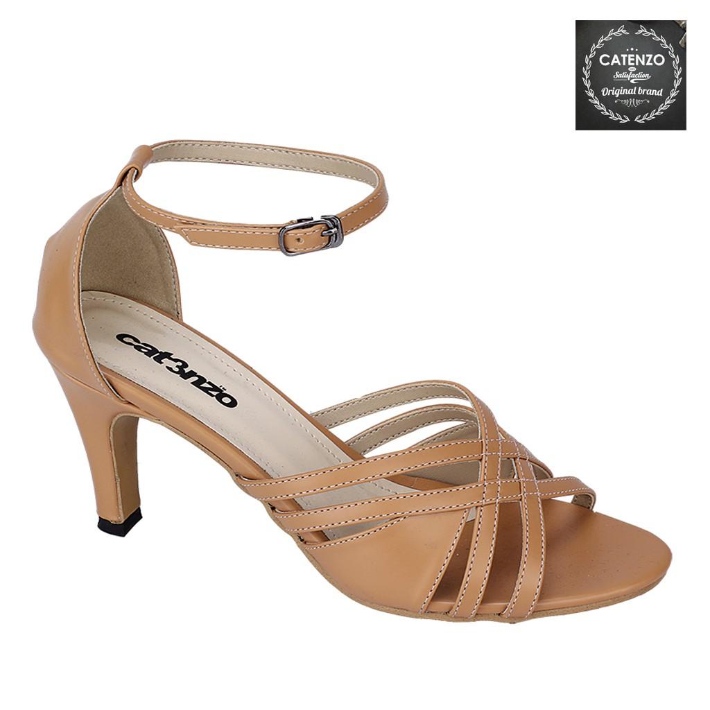 Sepatu High Heels Wanita Warna Silver Catenzo Ta 457 Daftar Harga D Tb41 Heel Casual Cream 467 Ori Asli Murah Shopee Indonesia