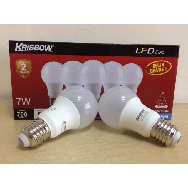 Lampu Led Krisbow 7 Watt Shopee Indonesia