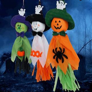 Halloween Ghost Pumpkin Hanging Decorations Indoor Outdoor Party Decoration Ld
