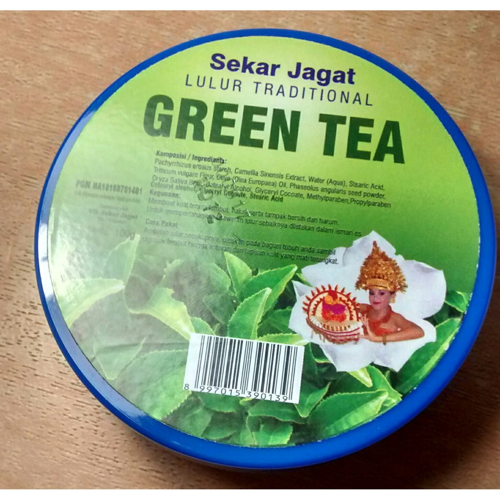 Lulur Sekar Jagat Avocado Shopee Indonesia Spa Cream 100gr Green Tea