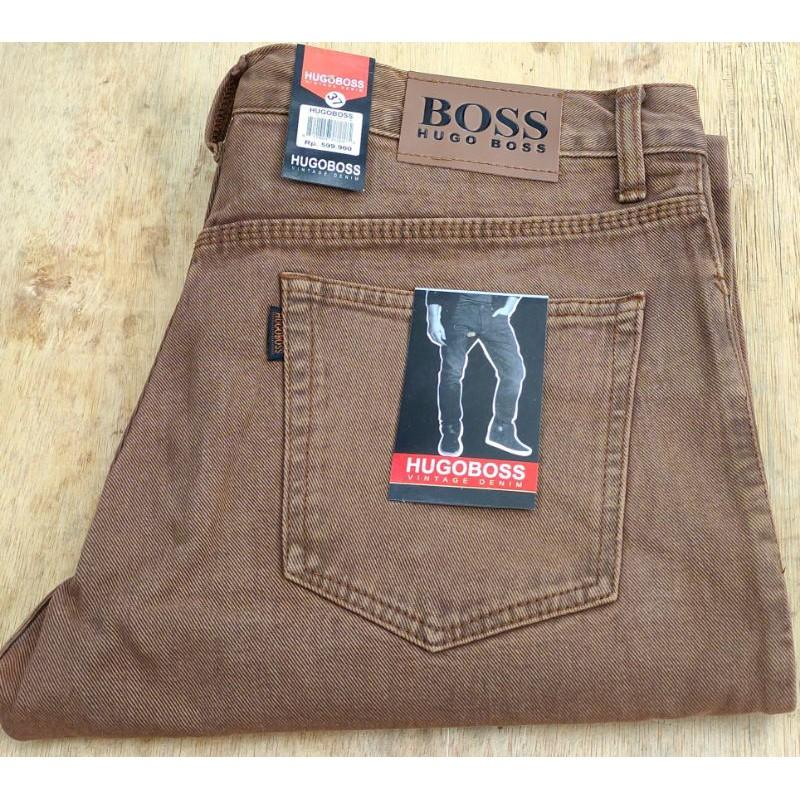 Harga Celana Hugo Terbaik Jeans Pakaian Pria Maret 2021 Shopee Indonesia