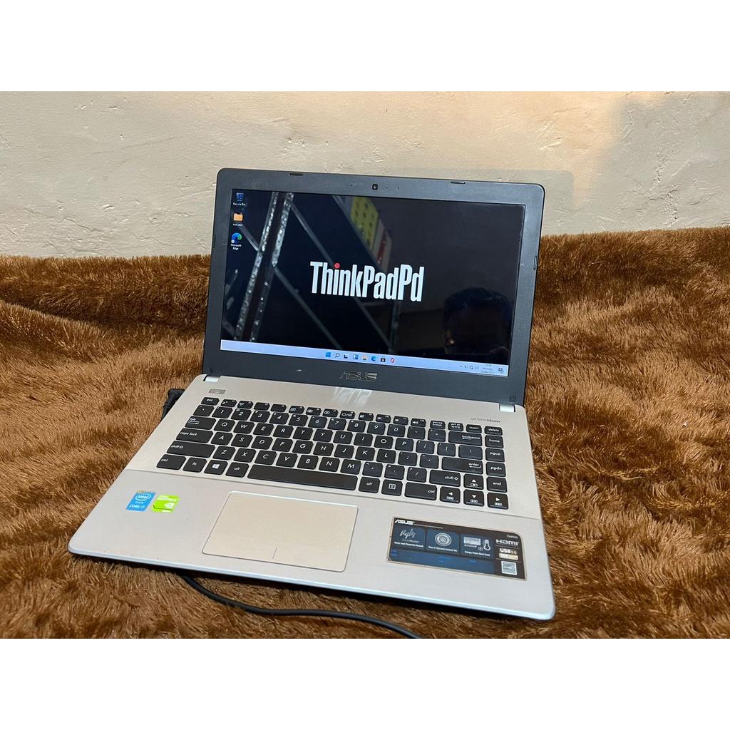 Laptop Gaming desain Asus X450J Core i7 4700HQ Nvidia Murah