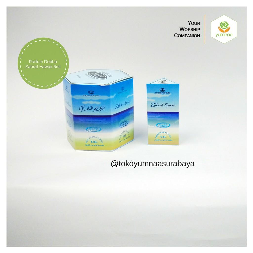 Grosir Parfum Arab Awet Dobha Non Alkohol Roll On 6ml Original Zahrat Hawai 6pcs Minyak Wangi Al Raehan Rehab Yumnaa Shopee Indonesia