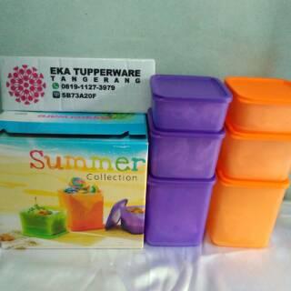 Shopee Perlengkapan Rumah Tempat Penyimpanan Lain-lain Tupperware Summer Fun Collection, Toples ( Hijau