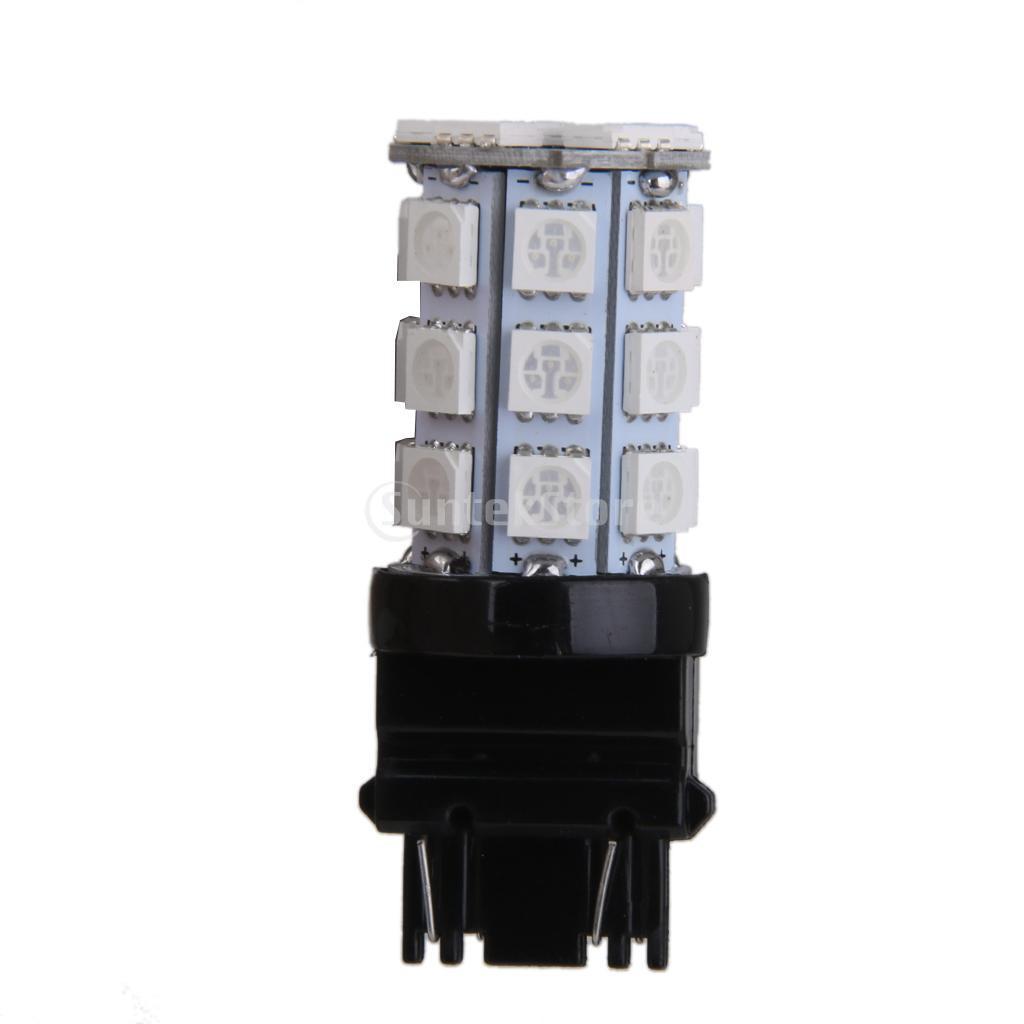 Ice Blue T20 27SMD 5050 Reverse Back Up//Tail//Brake//Stop//Turn LED Light Bulb