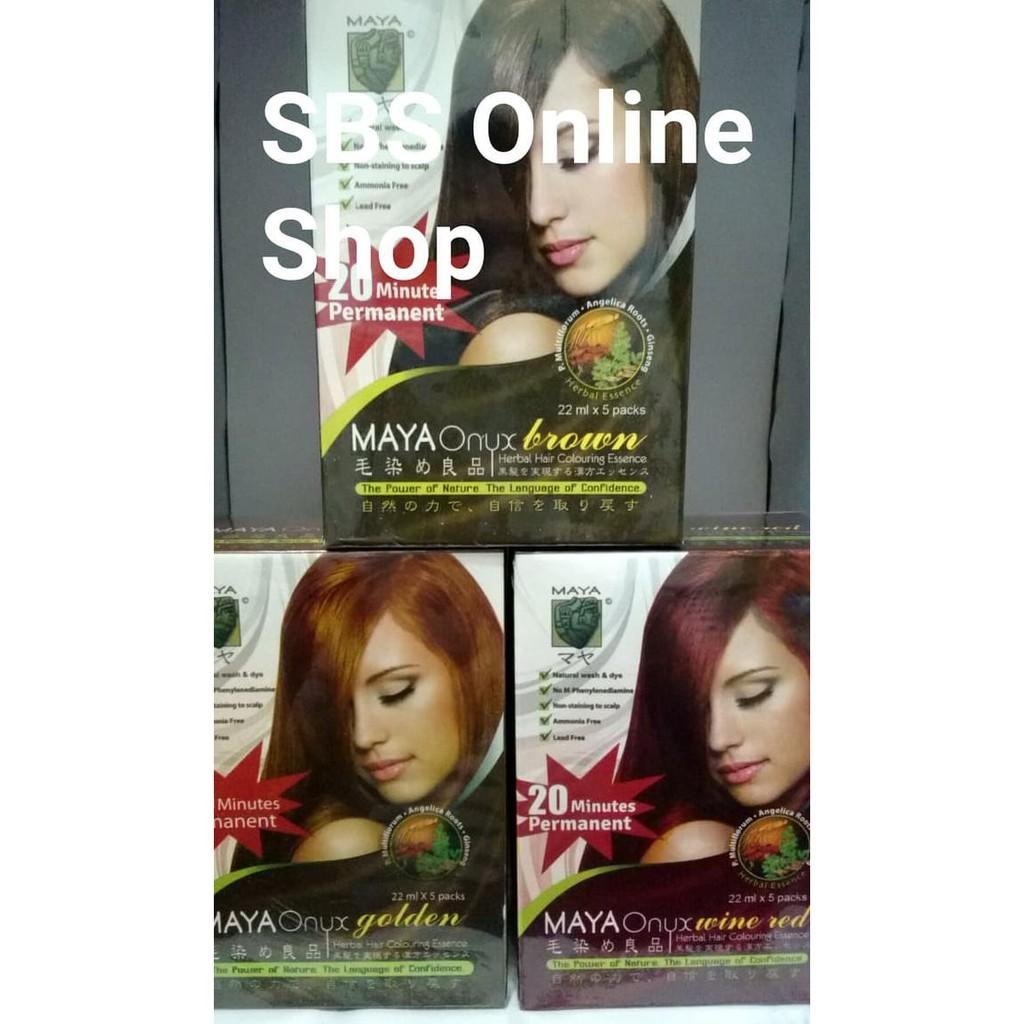 Salee Maya Onyx Brown, Shampoo, Cat Rambut, Semir Rambut, Hair Colouring Terlariss | Shopee Indonesia