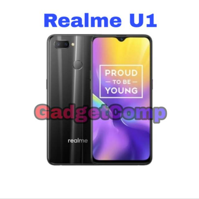Realme U1 - ROM 32GB 32 - RAM 3GB 3 - Garansi Resmi