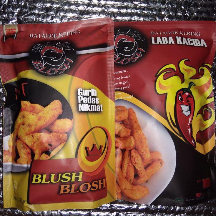 Baru Blush Blosh Batagor Kering Makanan Ringan Yang Gurih