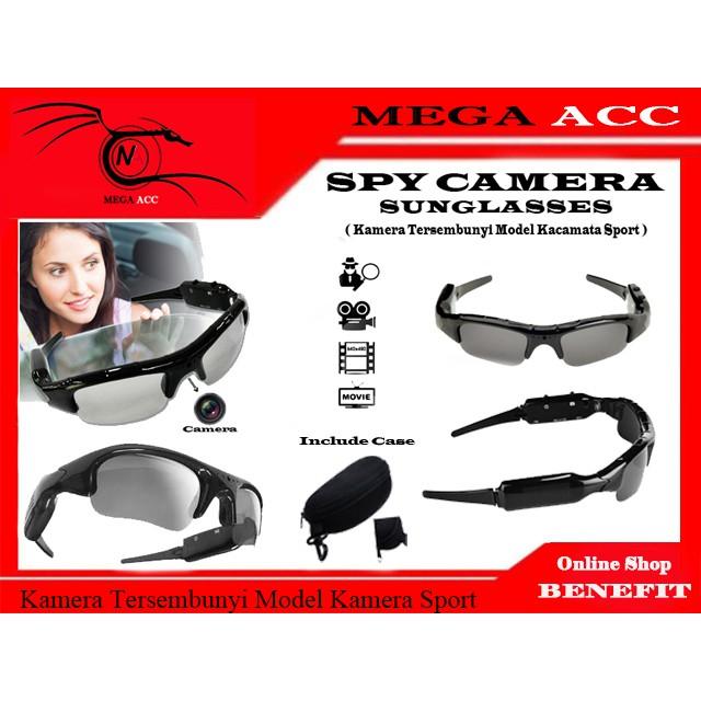 Spy Cam Kacamata Slot Micro SD   Camera Kacamata Pengintai   Mata Mata  82ba1185b6