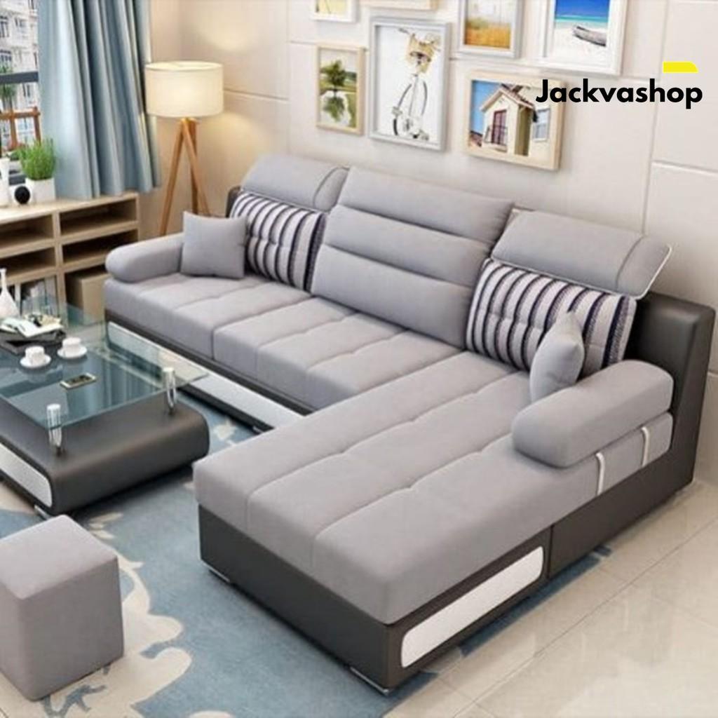 Sofa Tamu L Minimalis Mewah Sofa Santai Sofa Sudut Modern Luxury Meja Jabodetabek Only Lazada Indonesia