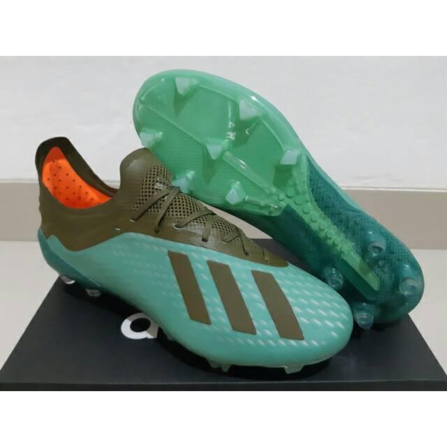 Sepatu Bola Adidas X 18 1 Next Gen Black Tosca Shopee Indonesia