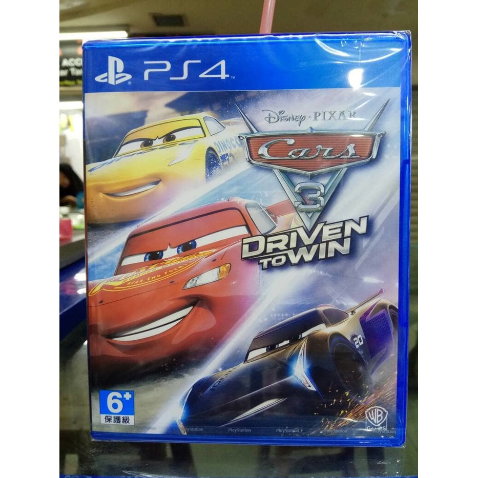Laris Ps4 Cars 3 Driven To Win Limited Shopee Indonesia Kaset Bd Game Battle World Kronos Reg 2