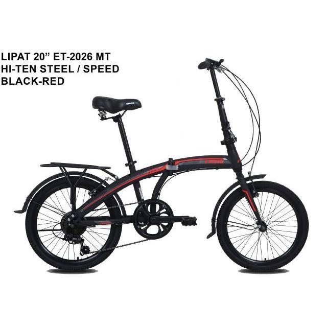 Sepeda Lipat Folding Bike Anak Dewasa Exotic 2026 MT