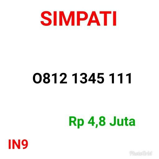 Nomor Cantik Simpati seri triple kuartet 1111 naik 1114111115 rapi Ls   Shopee Indonesia