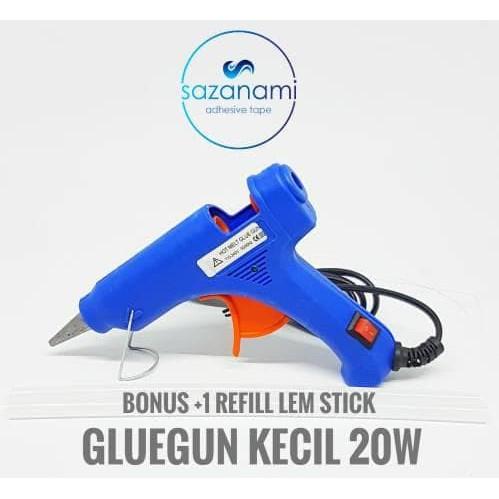 Alat Lem Tembak Glue Gun Lem Bakar Cair 20 Watt +Bonus Refill Lem 20cm | Shopee Indonesia