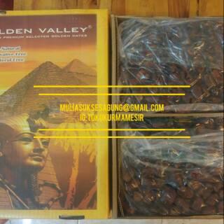 Price Checker Kurma Mesir Golden Valley 10kg per kotak, FRESH BARU discount - only 223.300Rp