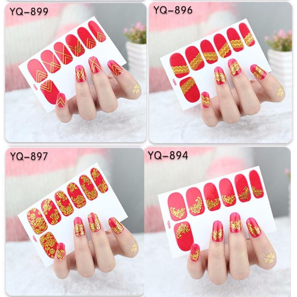 Nail Sticker CNY Design / Nail Sticker Imlek Design