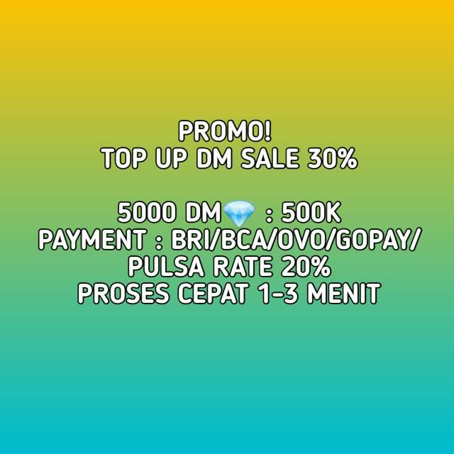 Promo Murah Top Up Free Fire 5000 Diamond Shopee Indonesia