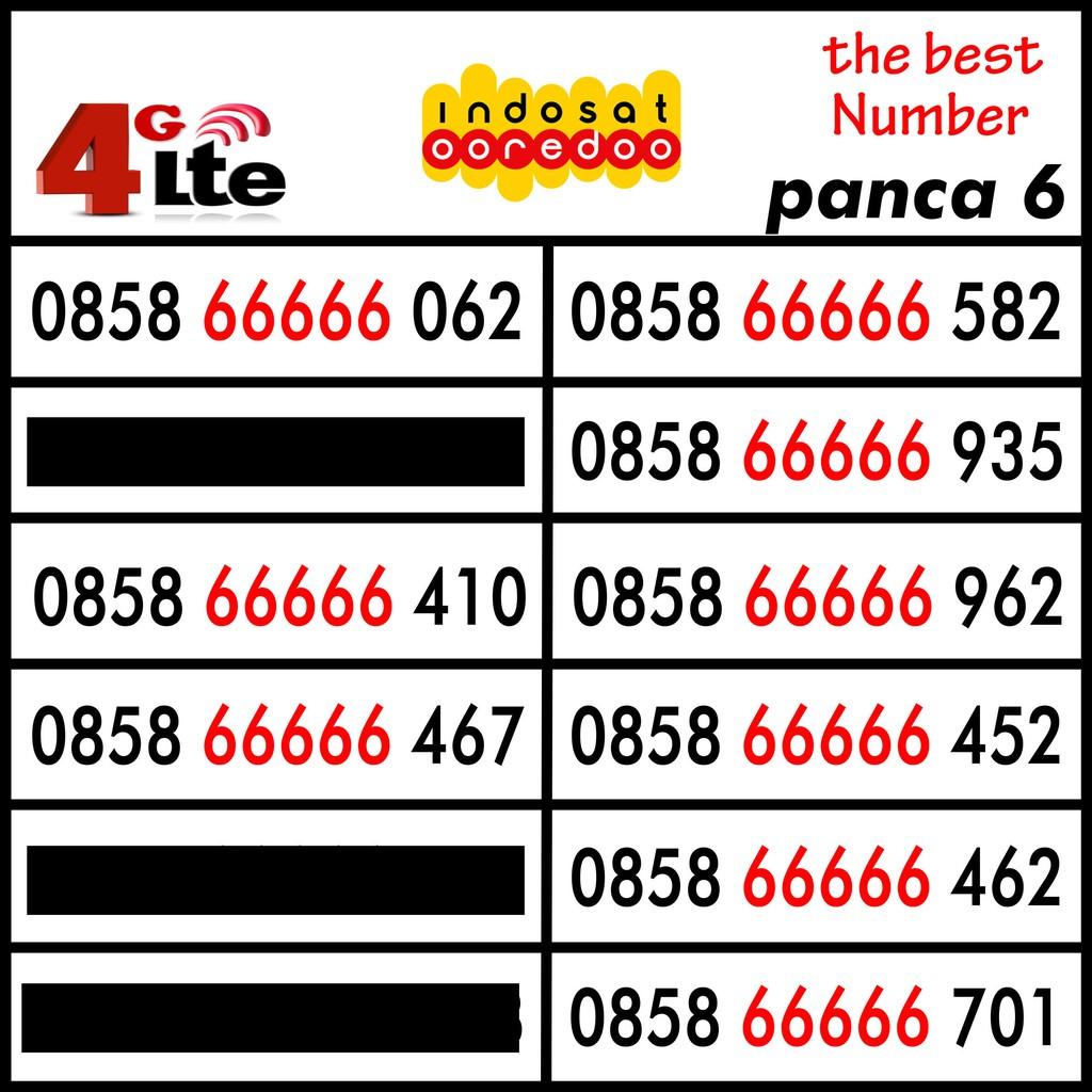 Nomor Cantik Kartu Perdana Indosat M3 Mentari Nocan Seri Tahun Panca 1989 1988 | Shopee Indonesia