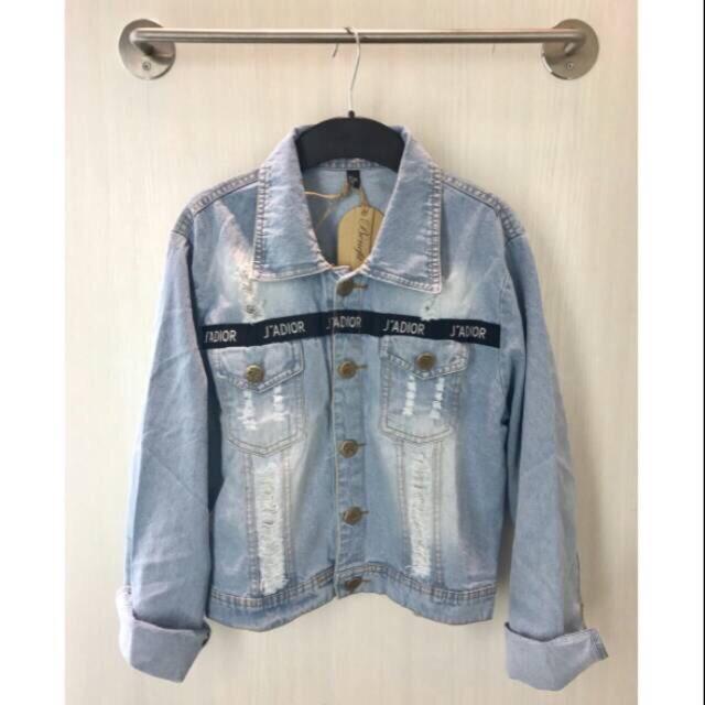Dapatkan Harga levis wanita Ripped jeans Outerwear Diskon  dbc4cfe442