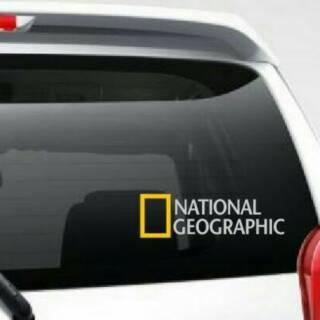 Stiker Kaca Mobil Motif National Geographic Shopee Indonesia
