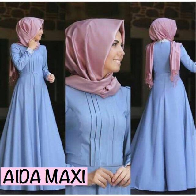 Sale Damai Fashion Jakarta - Dress Muslim Wanita Casandra Salur - Konveksi Murah Baju Tanah Abang   Shopee Indonesia