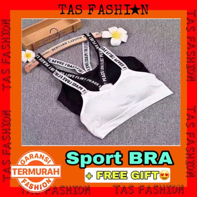 8a31799a6c Sport Bra Gym Fitness Senam Zumba Jogging Yoga Pakaian Dalam Olahraga  Wanita Hight High Quality SPB