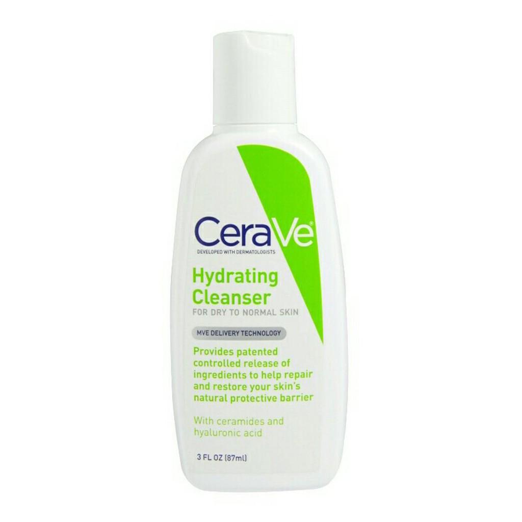 Cerave Hydrating Cleanser 355ml Shopee Indonesia Sensatia Botanicals Balancing Body Care Set 2 X 500 Ml