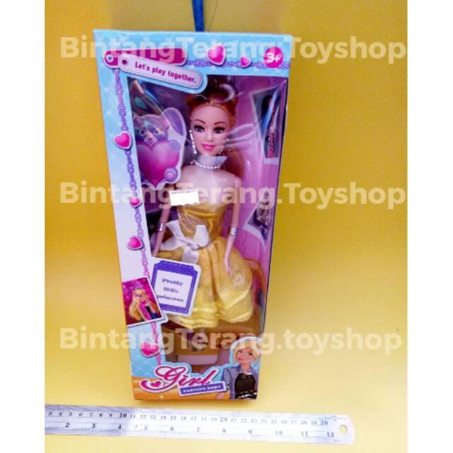 Boneka Barbie Barbiean Murah Barbie Cantik Shopee Indonesia