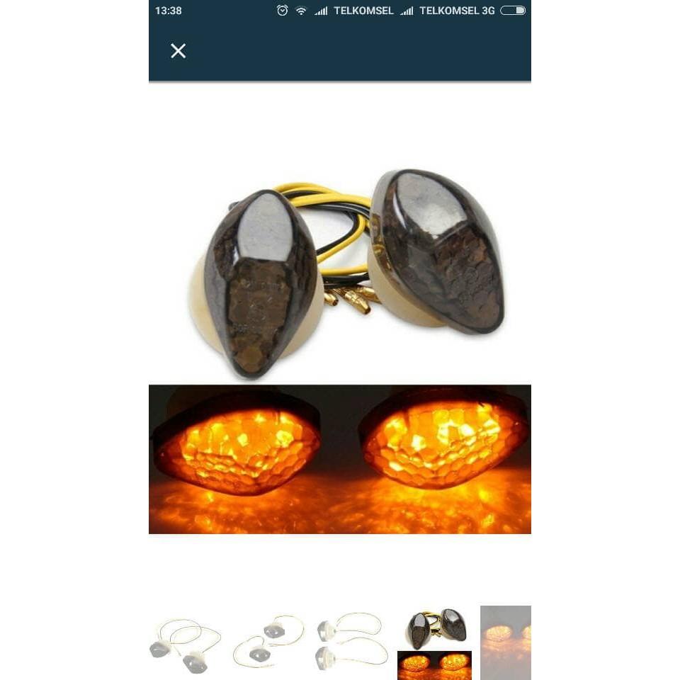 Seven Lampu Sen Sein Led Tempel Model Ninja 250 For Cbr 150 Daftar Crystal Ritting Portable R15 R25 Rr Shopee Indonesia